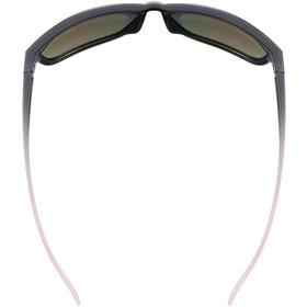 UVEX LGL 36 Colorivision Okulary, czarny/różowy